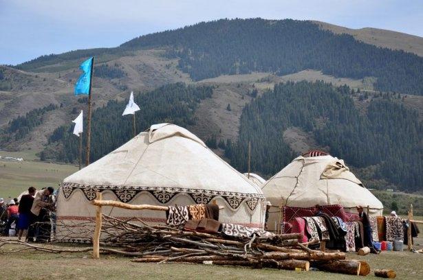 Kırgızların zengin göçebe kültürü 20