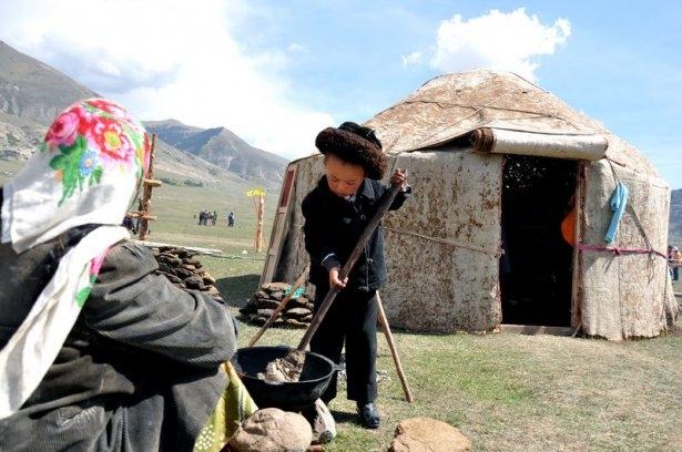 Kırgızların zengin göçebe kültürü 24