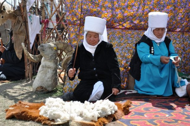 Kırgızların zengin göçebe kültürü 34