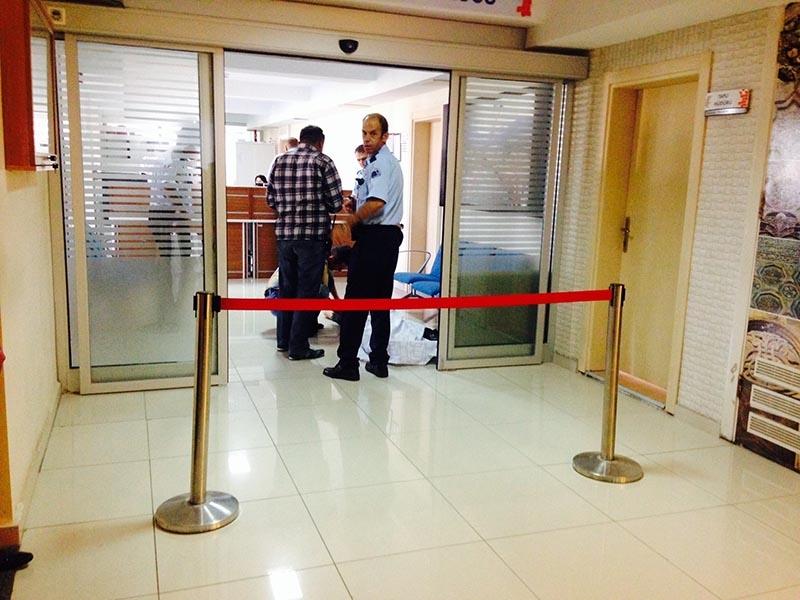 Harita Mühendisi Tapu Müdürlüğü binasında kalbine yenik düştü 3
