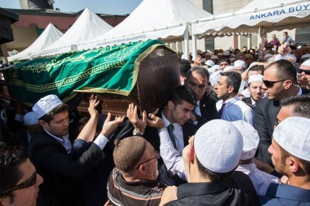 Cenazesine Erdoğan da katıldı 1