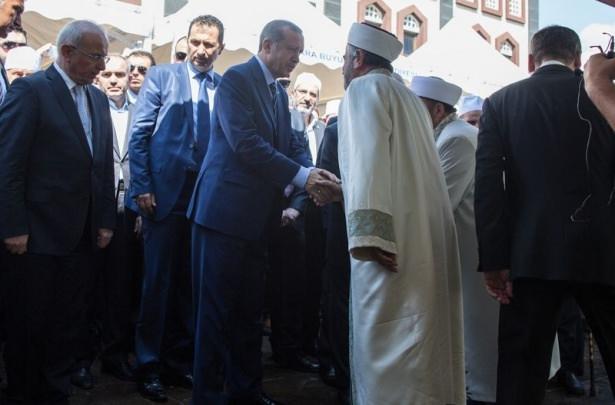 Cenazesine Erdoğan da katıldı 10