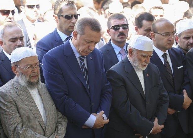 Cenazesine Erdoğan da katıldı 11
