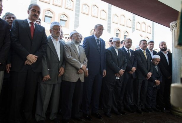 Cenazesine Erdoğan da katıldı 13