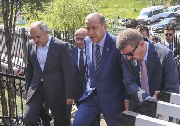 Cenazesine Erdoğan da katıldı 15