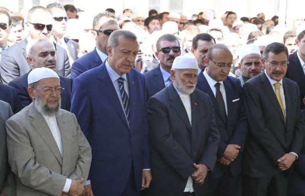 Cenazesine Erdoğan da katıldı 19