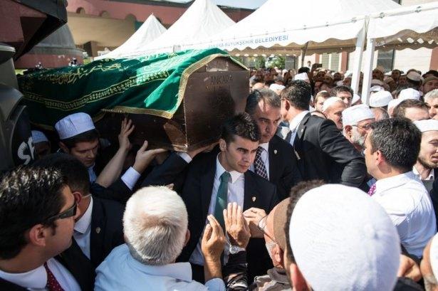 Cenazesine Erdoğan da katıldı 2
