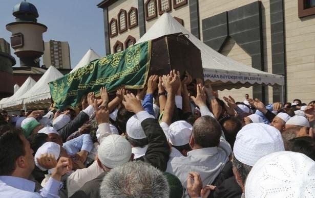 Cenazesine Erdoğan da katıldı 20
