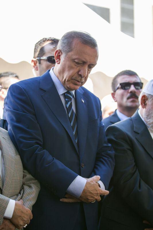Cenazesine Erdoğan da katıldı 5