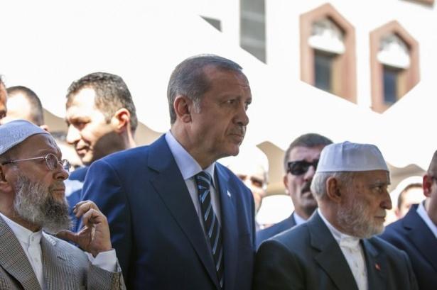 Cenazesine Erdoğan da katıldı 7