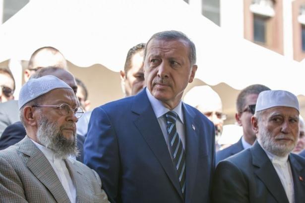 Cenazesine Erdoğan da katıldı 8