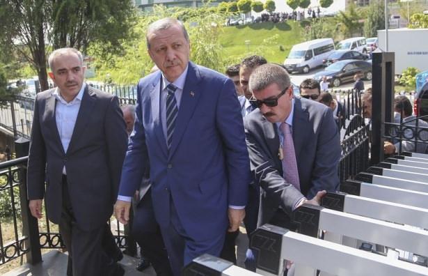 Cenazesine Erdoğan da katıldı 9