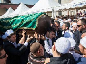 Cenazesine Erdoğan da katıldı