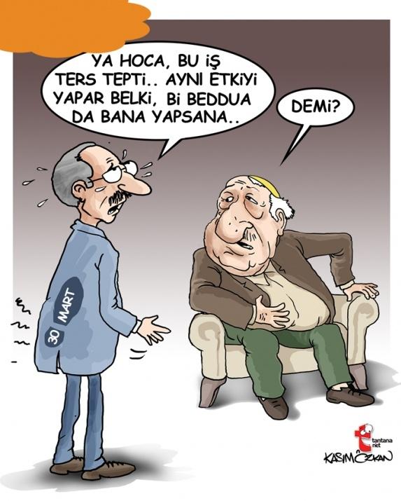 Seçim sonrası güldüren karikatürler 1