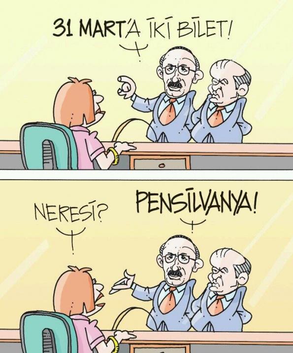 Seçim sonrası güldüren karikatürler 4