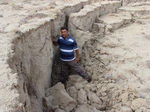 Konya'da yeni bir obruk daha oluştu