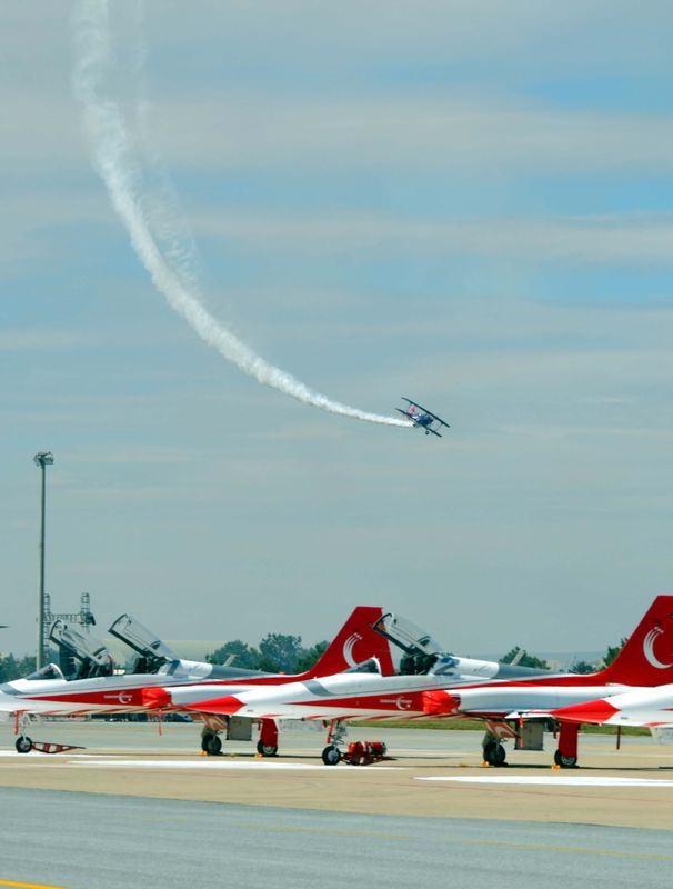 Eskişehir'de nefes kesen gösteri 11