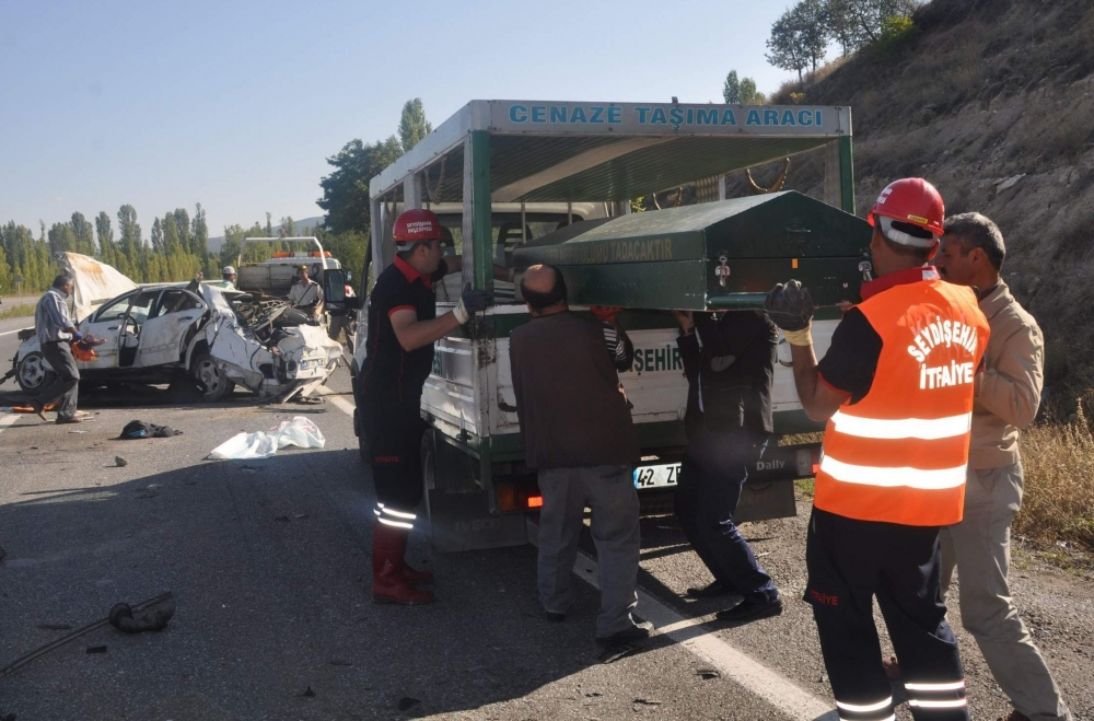 Konya'da feci kaza: 2 ölü 2