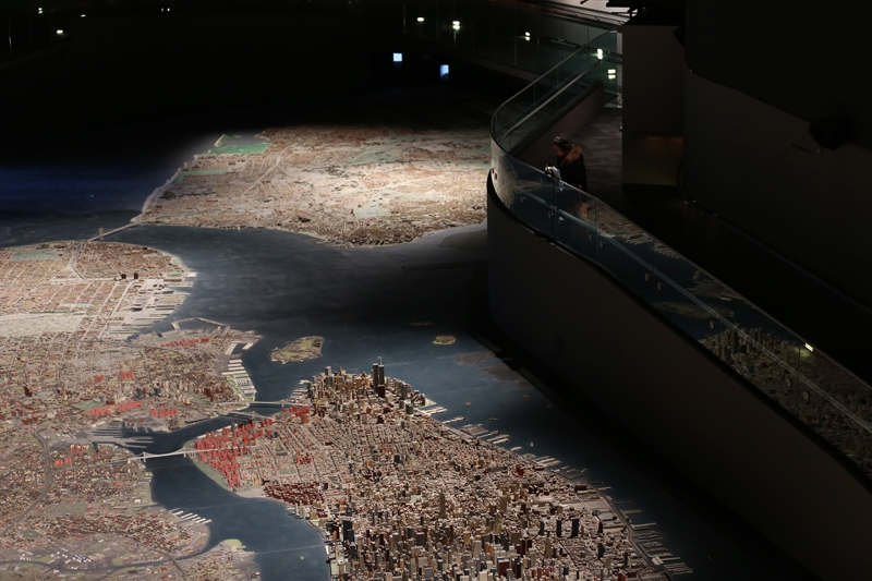 New York şehir maketi 50 yıldır ayakta 10