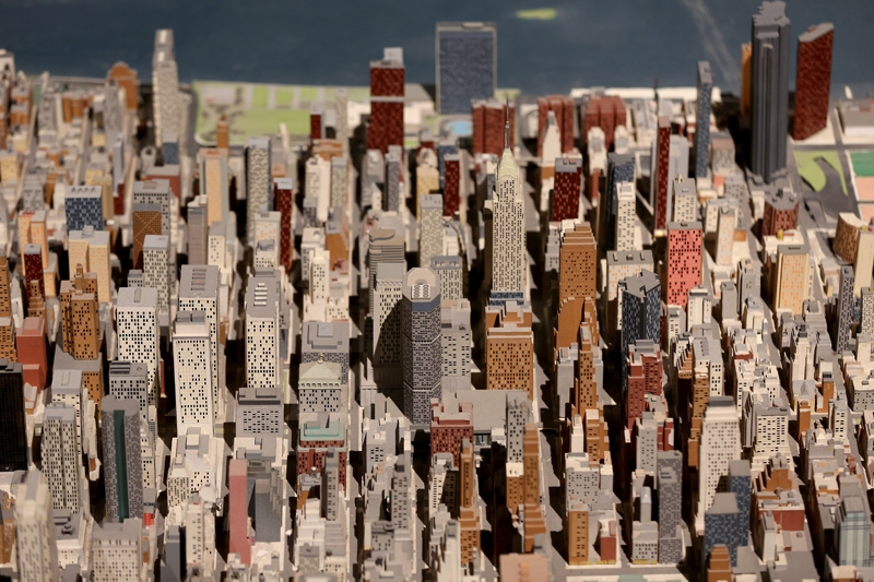 New York şehir maketi 50 yıldır ayakta 2