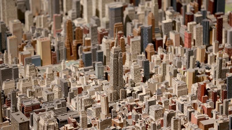 New York şehir maketi 50 yıldır ayakta 3