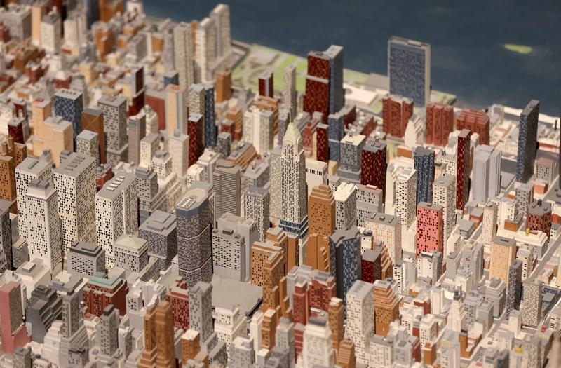 New York şehir maketi 50 yıldır ayakta 4