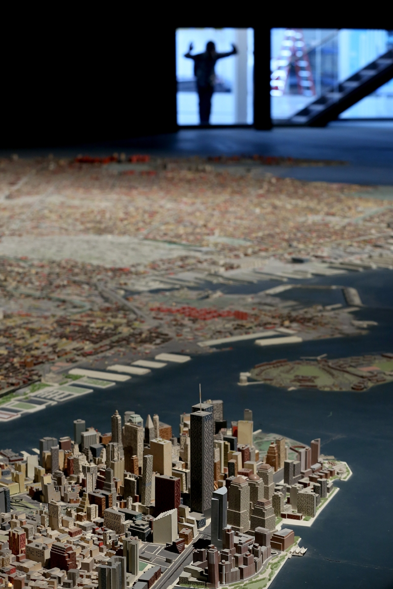 New York şehir maketi 50 yıldır ayakta 9