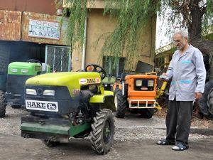 Uzaktan kumandalı bahçe traktörü üretti