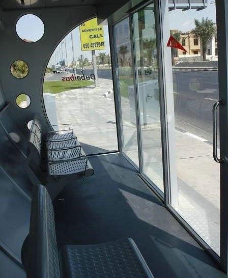 Enteresan otobüs durakları 18