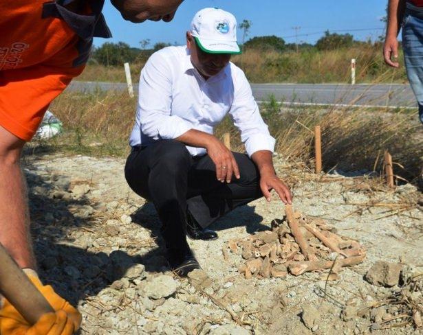 Gelibolu'da yeni bir şehitlik bulundu 11