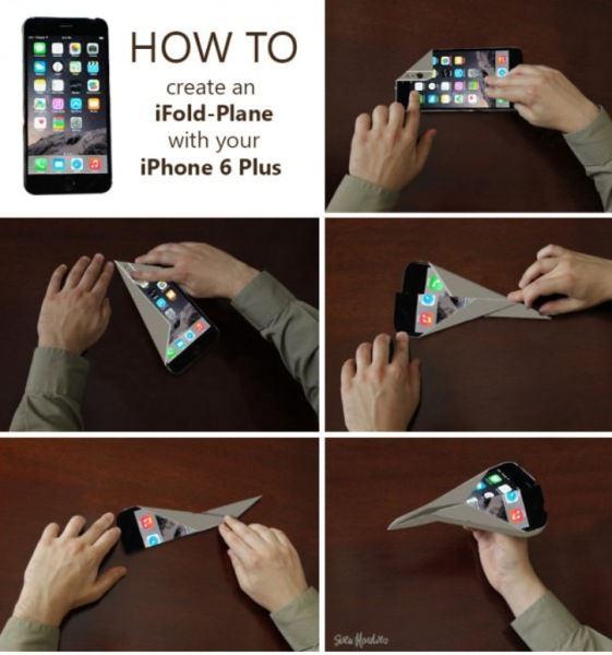 Bükülen iPhone 6 sosyal medyayı salladı 1