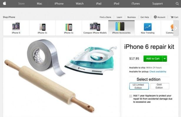 Bükülen iPhone 6 sosyal medyayı salladı 10