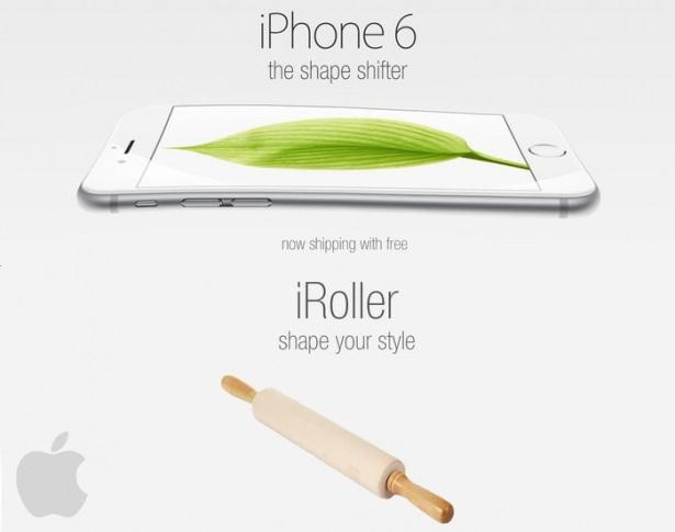 Bükülen iPhone 6 sosyal medyayı salladı 11