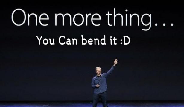 Bükülen iPhone 6 sosyal medyayı salladı 13