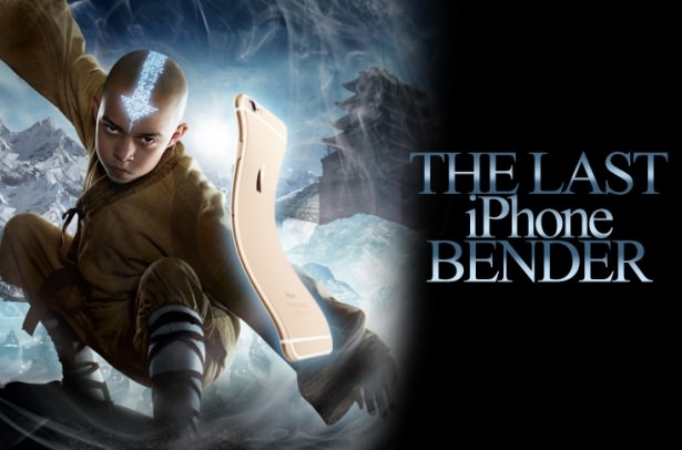 Bükülen iPhone 6 sosyal medyayı salladı 6