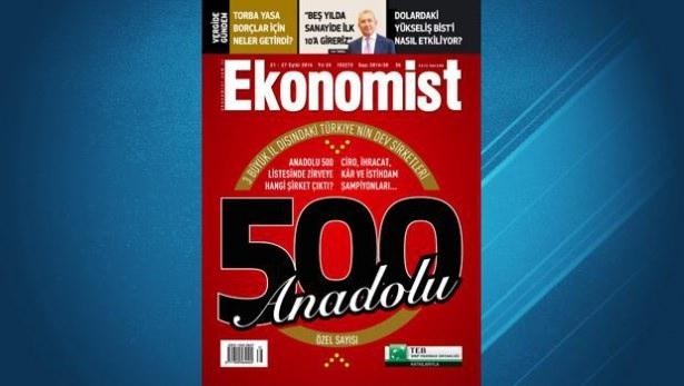 Anadolu'nun en büyük 50 şirketi 1