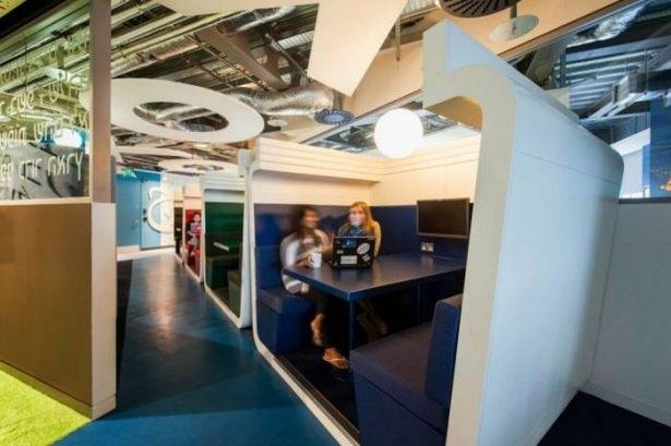 Google'ın sıradışı ofisi 1