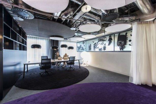 Google'ın sıradışı ofisi 12