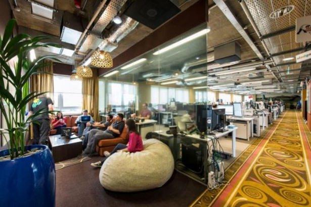 Google'ın sıradışı ofisi 14