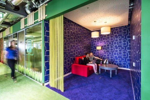 Google'ın sıradışı ofisi 15