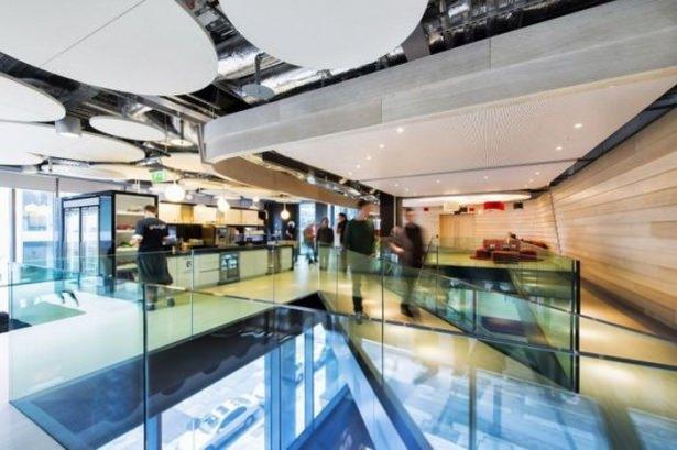 Google'ın sıradışı ofisi 16