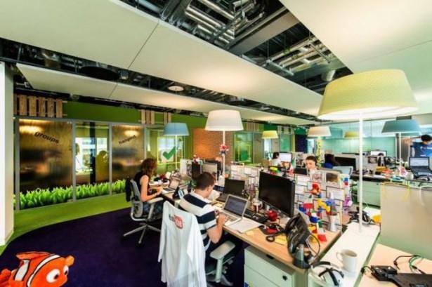 Google'ın sıradışı ofisi 17