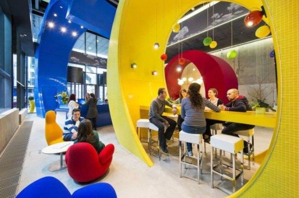 Google'ın sıradışı ofisi 19