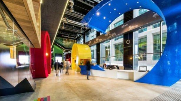 Google'ın sıradışı ofisi 2