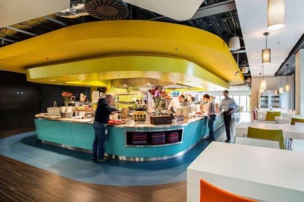 Google'ın sıradışı ofisi 20