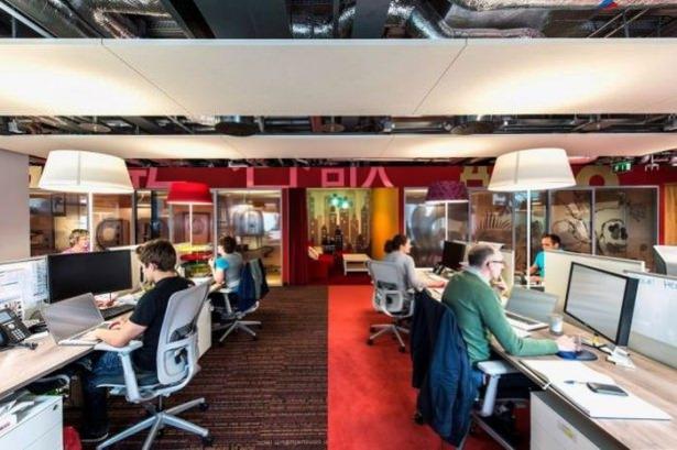 Google'ın sıradışı ofisi 21
