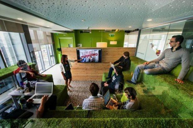 Google'ın sıradışı ofisi 28