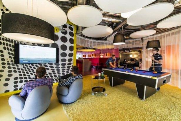 Google'ın sıradışı ofisi 29