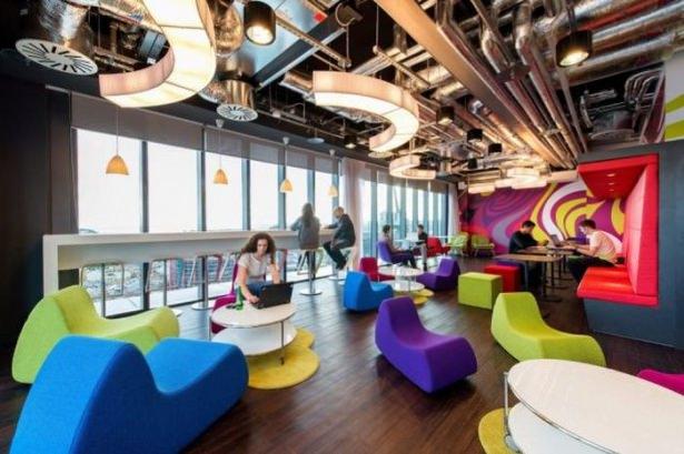 Google'ın sıradışı ofisi 35