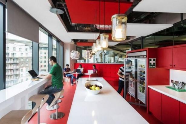 Google'ın sıradışı ofisi 38